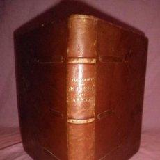 Libros antiguos: LE JARDIN DES CARESSES - FRANZ TOUSSAINT - AÑO 1921 - BELLA EDICION EN PIEL·ILUSTRACIONES.. Lote 31363058