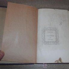 Libros antiguos: ALFREDO DE MUSSET - DOS NOCHES DE LUJURIA -. Lote 38058776