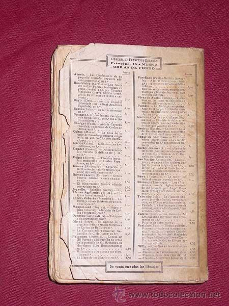 Libros antiguos: LA SUEGRA DE TARQUINO, NOVELA DE MALAS COSTUMBRES ROMANAS. JOAQUÍN BELDA. FRANCISCO BELTRÁN, 1909. + - Foto 4 - 39331382