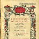 Libros antiguos: VOISENON : LOS EJERCICIOS DE DEVOCIÓN (LÓPEZ BARBADILLO, 1933). Lote 39632066