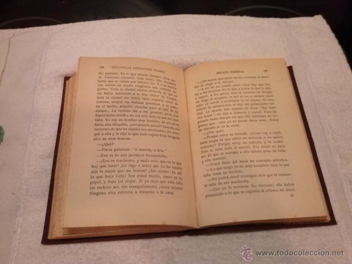 Libros antiguos: Wenceslao Fernández Flórez - Relato inmoral (Edit. Atlántida, 1927) 1ª Edición. Tapa dura - Foto 3 - 41117409