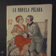 Libros antiguos: LA NOVELA PICARA - UN CADILLAC ROBERTO Y DOS NENAS - NUM 90 - DIBUJOS ARGUS - (L-123). Lote 44014904