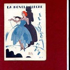 Libros antiguos: EL SUEÑO DE MIMI ,ED HISPANIA (LA NOVELA ALEGRE Nº 3 ),PROX 1920, NOVELA EROTICA. Lote 45148636