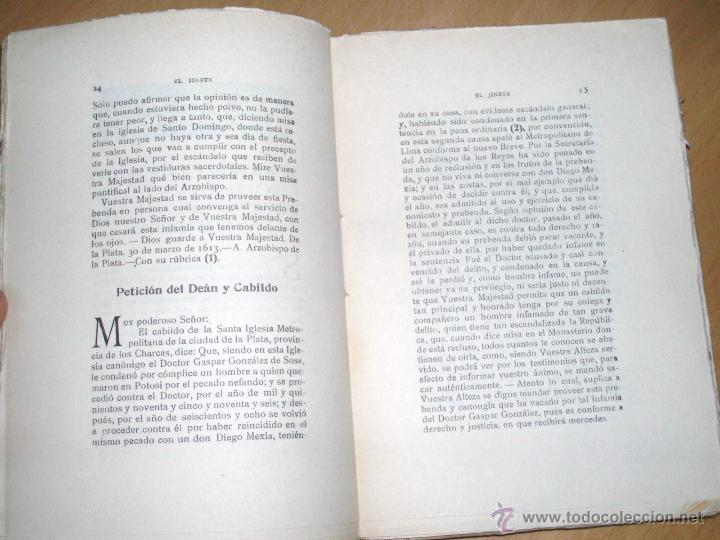Libros antiguos: EL JINETE. Biblioteca López Barbadillo .Edición muy restringida y única. ver Rarísimo - Foto 3 - 205686463