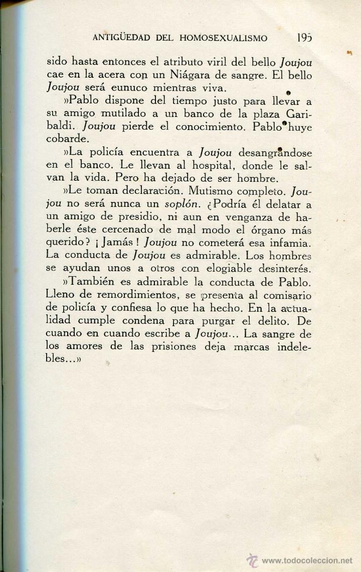 Libros antiguos: 1932: Sodoma y lesbos modernas. Pederastas y Safistas. Sexo. - Foto 7 - 44957205