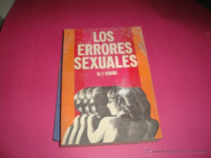 LOS ERRORES SEXUALES - DR. F. KONING (Libros antiguos (hasta 1936), raros y curiosos - Literatura - Narrativa - Erótica)