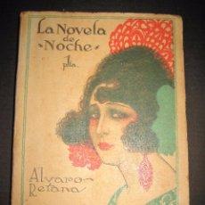 Libros antiguos: NOVELA EROTICA - LA NOVELA DE NOCHE - EL VENENO DE LA AVENTURA - Nº4. Lote 49418546