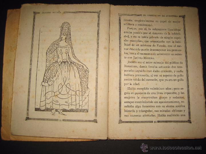 Libros antiguos: NOVELA EROTICA - LA NOVELA DE NOCHE - EL VENENO DE LA AVENTURA - Nº4 - Foto 4 - 49418546