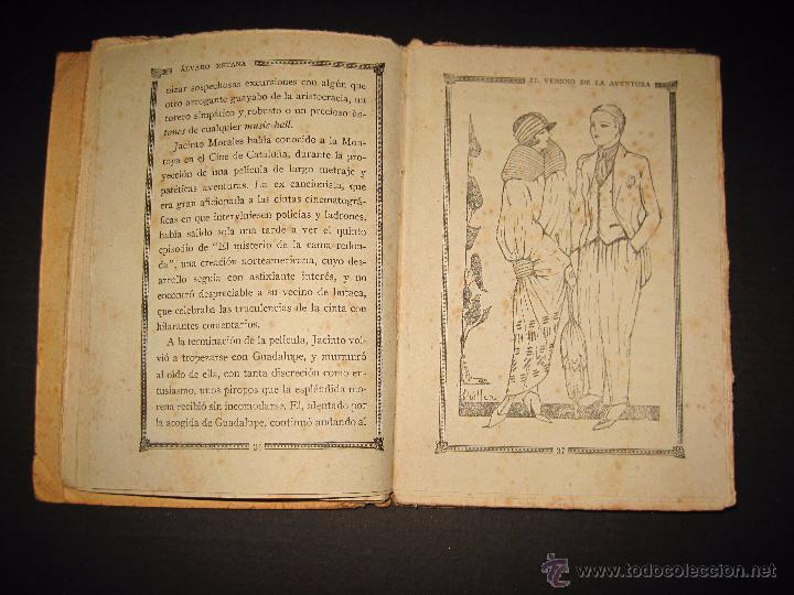 Libros antiguos: NOVELA EROTICA - LA NOVELA DE NOCHE - EL VENENO DE LA AVENTURA - Nº4 - Foto 5 - 49418546