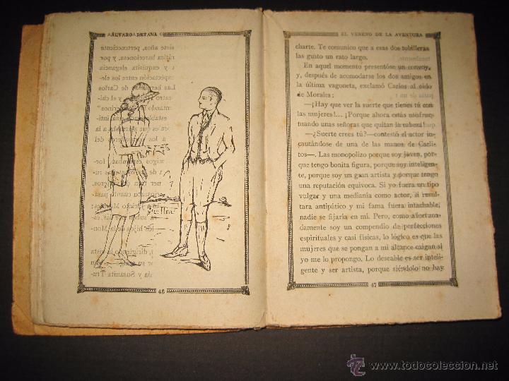 Libros antiguos: NOVELA EROTICA - LA NOVELA DE NOCHE - EL VENENO DE LA AVENTURA - Nº4 - Foto 6 - 49418546