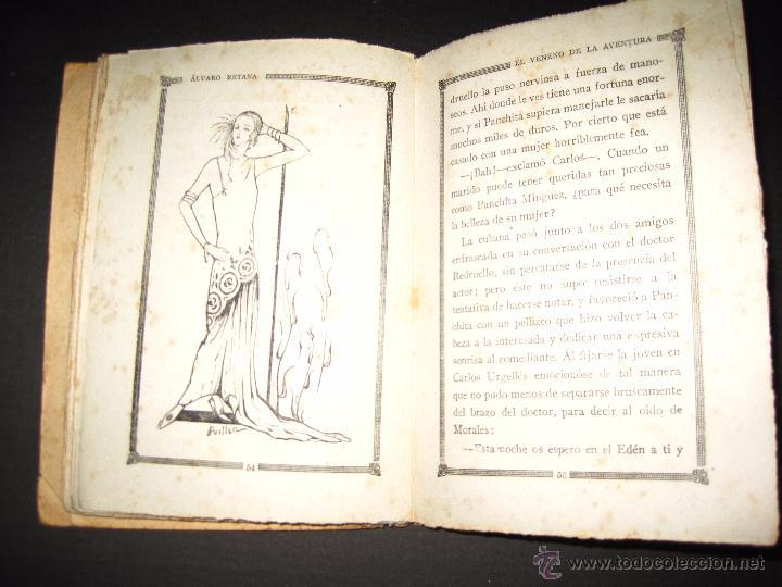 Libros antiguos: NOVELA EROTICA - LA NOVELA DE NOCHE - EL VENENO DE LA AVENTURA - Nº4 - Foto 7 - 49418546
