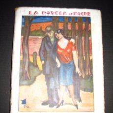 Libros antiguos: NOVELA EROTICA - LA NOVELA DE NOCHE - CAMINO RECTO - Nº54 - VER FOTOS. Lote 49418640