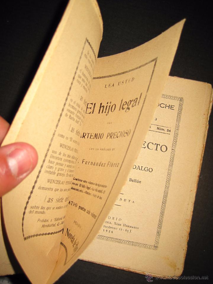 Libros antiguos: NOVELA EROTICA - LA NOVELA DE NOCHE - CAMINO RECTO - Nº54 - VER FOTOS - Foto 2 - 49418640