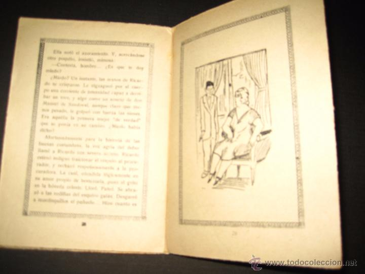 Libros antiguos: NOVELA EROTICA - LA NOVELA DE NOCHE - CAMINO RECTO - Nº54 - VER FOTOS - Foto 5 - 49418640