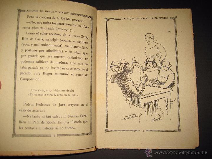 Libros antiguos: NOVELA EROTICA - LA NOVELA DE NOCHE - LA MUJER EL AMANTE Y EL MARIDO - Nº 24 - VER FOTOS - Foto 3 - 49418870
