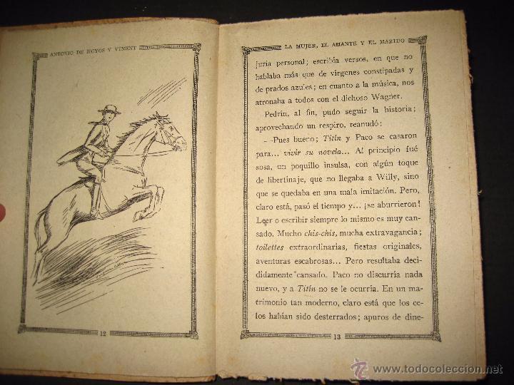Libros antiguos: NOVELA EROTICA - LA NOVELA DE NOCHE - LA MUJER EL AMANTE Y EL MARIDO - Nº 24 - VER FOTOS - Foto 4 - 49418870
