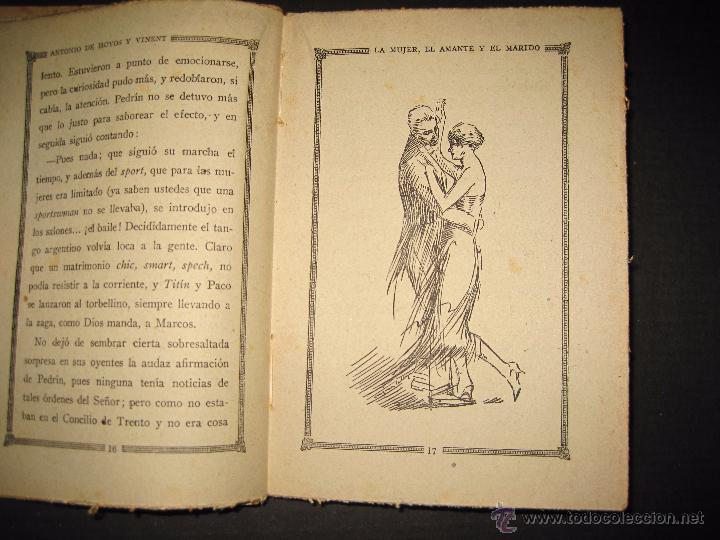Libros antiguos: NOVELA EROTICA - LA NOVELA DE NOCHE - LA MUJER EL AMANTE Y EL MARIDO - Nº 24 - VER FOTOS - Foto 5 - 49418870