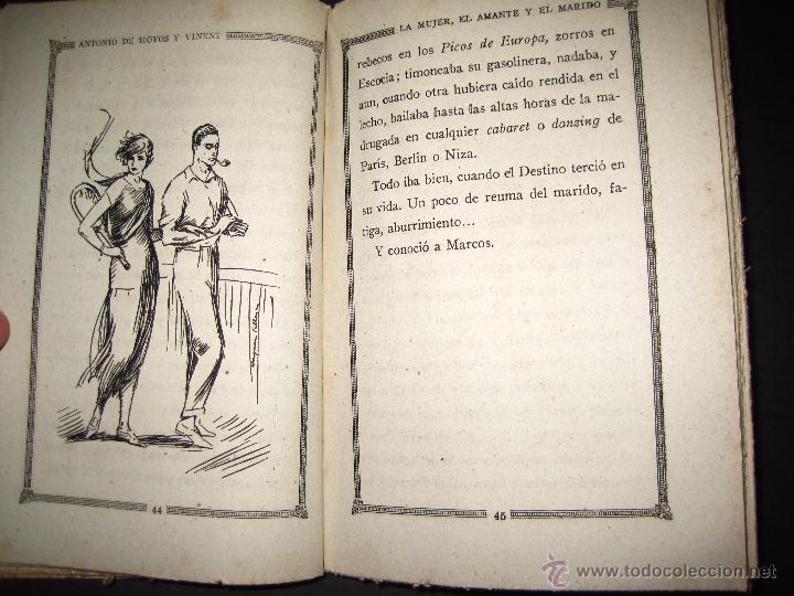 Libros antiguos: NOVELA EROTICA - LA NOVELA DE NOCHE - LA MUJER EL AMANTE Y EL MARIDO - Nº 24 - VER FOTOS - Foto 6 - 49418870