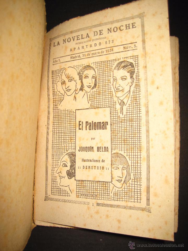 Libros antiguos: NOVELA EROTICA - LA NOVELA DE NOCHE - EL PALOMAR - Nº 5 - VER FOTOS - Foto 2 - 49418894