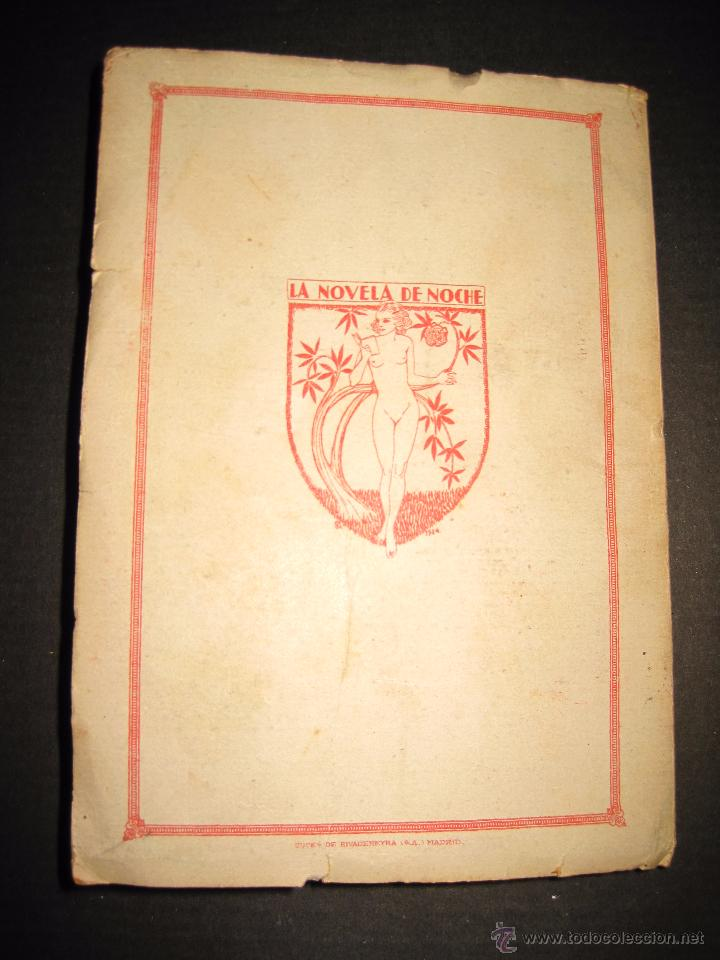 Libros antiguos: NOVELA EROTICA - LA NOVELA DE NOCHE - EL PALOMAR - Nº 5 - VER FOTOS - Foto 7 - 49418894