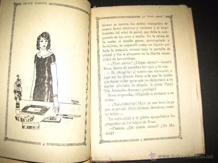 Libros antiguos: NOVELA EROTICA - LA NOVELA DE NOCHE - A TODO AMOR - Nº 10 - VER FOTOS - Foto 3 - 49418911