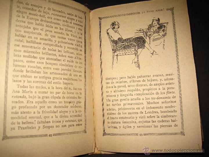 Libros antiguos: NOVELA EROTICA - LA NOVELA DE NOCHE - A TODO AMOR - Nº 10 - VER FOTOS - Foto 7 - 49418911