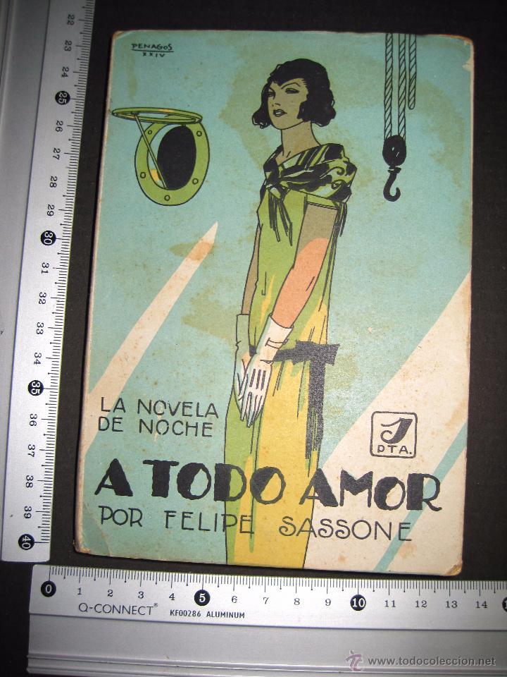 Libros antiguos: NOVELA EROTICA - LA NOVELA DE NOCHE - A TODO AMOR - Nº 10 - VER FOTOS - Foto 9 - 49418911