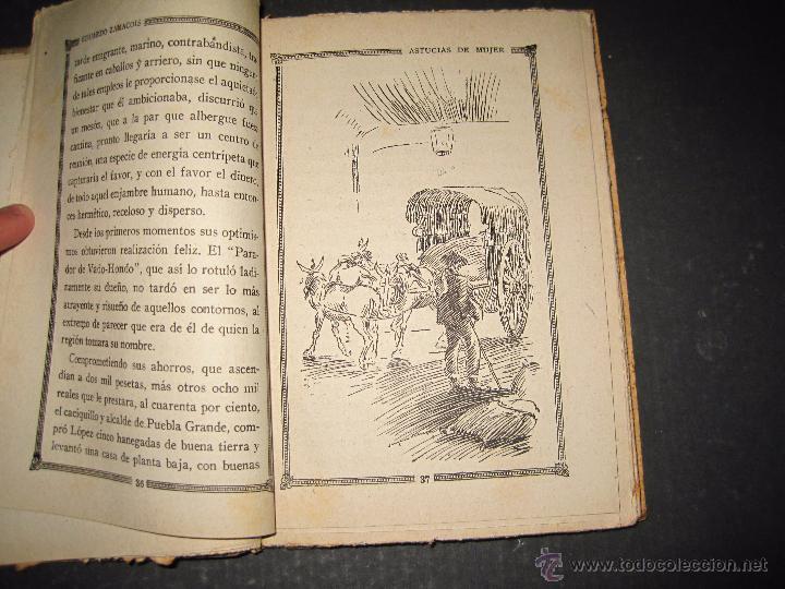Libros antiguos: NOVELA EROTICA - LA NOVELA DE NOCHE - ASTUCIAS DE MUJER - Nº 7 - VER FOTOS - Foto 3 - 49418945