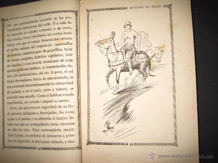 Libros antiguos: NOVELA EROTICA - LA NOVELA DE NOCHE - ASTUCIAS DE MUJER - Nº 7 - VER FOTOS - Foto 4 - 49418945