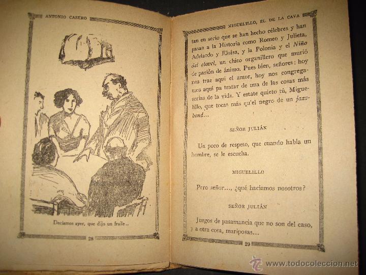 Libros antiguos: NOVELA EROTICA - LA NOVELA DE NOCHE - MIGUELILLO EL DE LA CAVA - Nº 11 - VER FOTOS - Foto 2 - 49418979