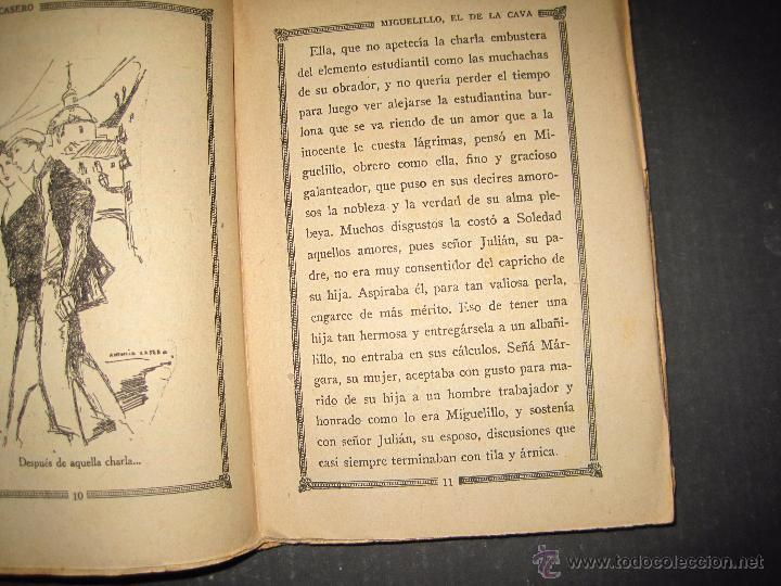 Libros antiguos: NOVELA EROTICA - LA NOVELA DE NOCHE - MIGUELILLO EL DE LA CAVA - Nº 11 - VER FOTOS - Foto 4 - 49418979