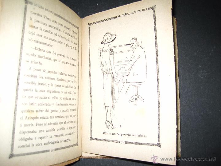 Libros antiguos: NOVELA EROTICA - LA NOVELA DE NOCHE - EL DIABLO CON FALDAS - Nº 14 - VER FOTOS - Foto 3 - 49418995