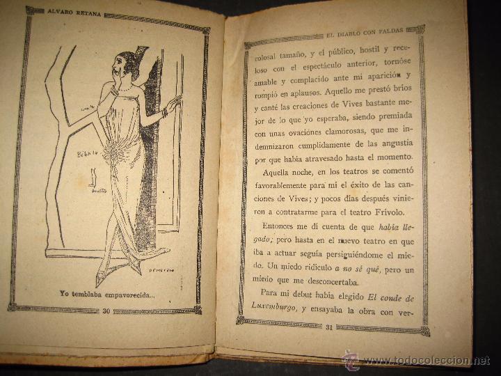 Libros antiguos: NOVELA EROTICA - LA NOVELA DE NOCHE - EL DIABLO CON FALDAS - Nº 14 - VER FOTOS - Foto 4 - 49418995