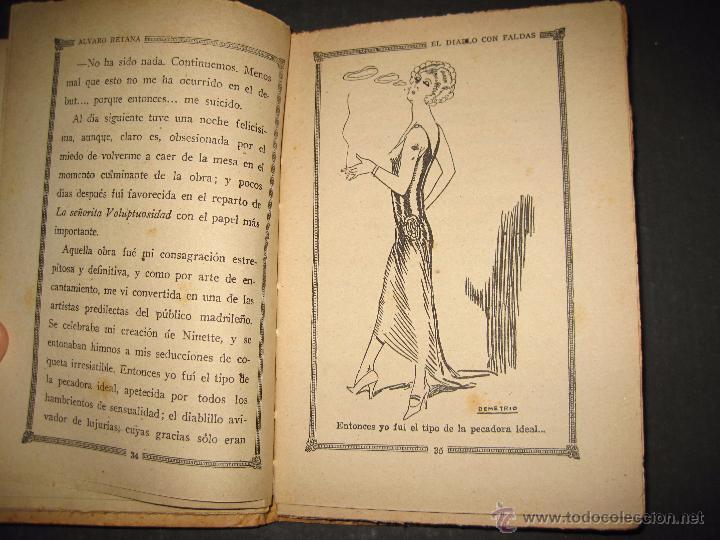 Libros antiguos: NOVELA EROTICA - LA NOVELA DE NOCHE - EL DIABLO CON FALDAS - Nº 14 - VER FOTOS - Foto 5 - 49418995