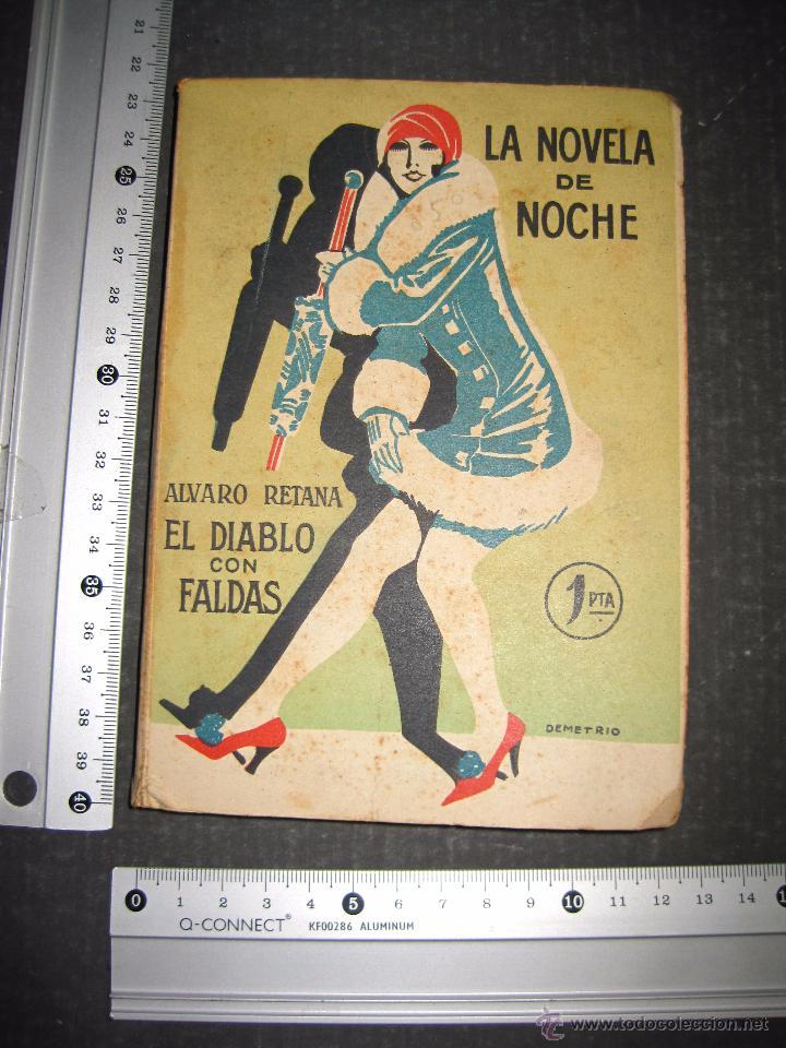 Libros antiguos: NOVELA EROTICA - LA NOVELA DE NOCHE - EL DIABLO CON FALDAS - Nº 14 - VER FOTOS - Foto 8 - 49418995