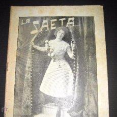 Libros antiguos: LA SAETA - 2 DE MARZO 1899 - Nº 432. Lote 49944201