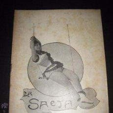 Libros antiguos: LA SAETA - 3 DE AGOSTO 1899 - Nº 454. Lote 49944218