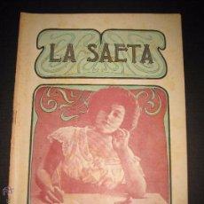 Libros antiguos: LA SAETA - 31 DE MAYO 1900 - Nº 497. Lote 49944355