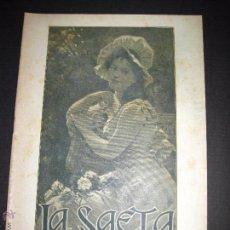 Libros antiguos: LA SAETA - 5 DE ABRIL 1900 - Nº 489. Lote 49944383