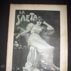 Libros antiguos: LA SAETA - 12 DE ABRIL 1900 - Nº 490. Lote 49944397
