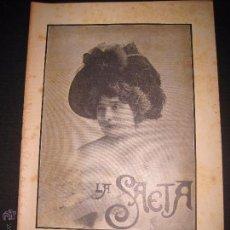 Libros antiguos: LA SAETA - 25 DE ENERO 1900 - Nº 479. Lote 49944533