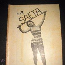 Libros antiguos: LA SAETA - 22 DE JUNIO 1899 - Nº 448. Lote 49944544