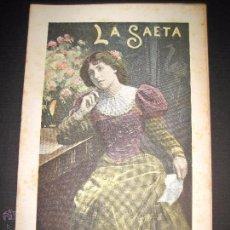 Libros antiguos: LA SAETA - 25 DE OCTUBRE 1900 - Nº 518. Lote 49944559