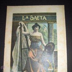Libros antiguos: LA SAETA - 8 DE NOVIEMBRE 1900 - Nº 520. Lote 49944578