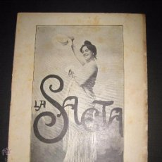 Libros antiguos: LA SAETA - 1 DE FEBRERO 1900 - Nº 480. Lote 49944672