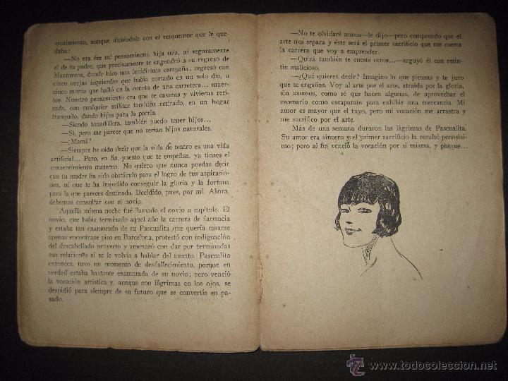 Libros antiguos: LA NOVELA EXQUISITA - LOS SACRIFICIOS DE UNA ARTISTA - NUMERO 74 - ILUSTRACIONES DE ZALA - Foto 3 - 50637494
