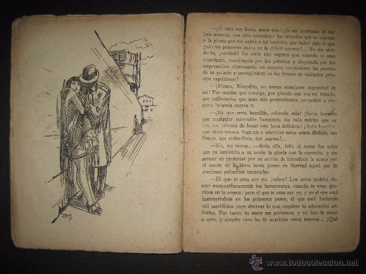 Libros antiguos: LA NOVELA EXQUISITA - LOS SACRIFICIOS DE UNA ARTISTA - NUMERO 74 - ILUSTRACIONES DE ZALA - Foto 4 - 50637494