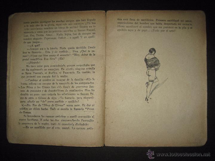 Libros antiguos: LA NOVELA EXQUISITA - LOS SACRIFICIOS DE UNA ARTISTA - NUMERO 74 - ILUSTRACIONES DE ZALA - Foto 5 - 50637494