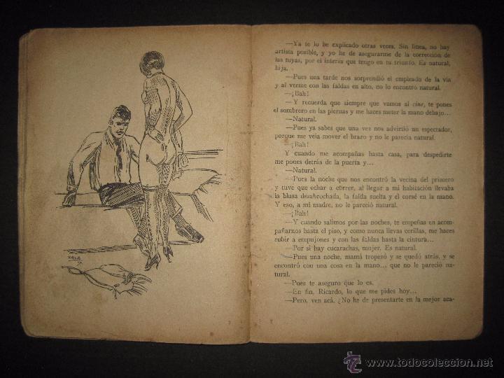 Libros antiguos: LA NOVELA EXQUISITA - LOS SACRIFICIOS DE UNA ARTISTA - NUMERO 74 - ILUSTRACIONES DE ZALA - Foto 6 - 50637494