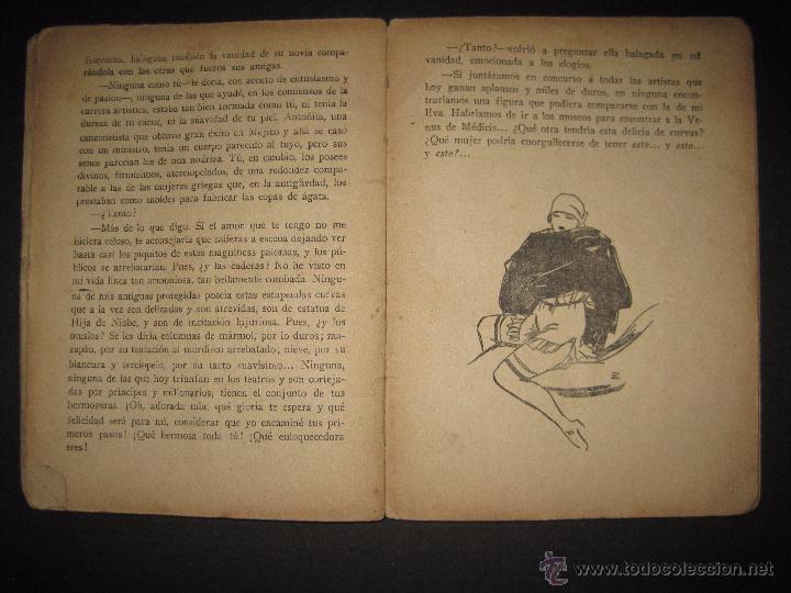 Libros antiguos: LA NOVELA EXQUISITA - LOS SACRIFICIOS DE UNA ARTISTA - NUMERO 74 - ILUSTRACIONES DE ZALA - Foto 7 - 50637494